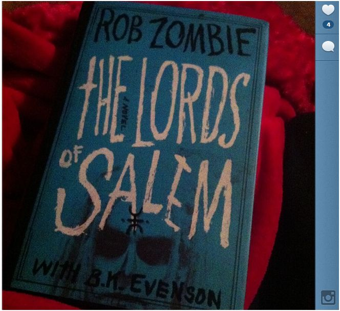 Lords of Salem Book Has Arrived!