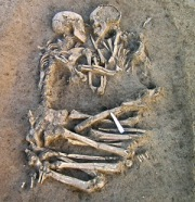 ITALY-ARCHEOLOGY-COUPLE