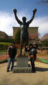 Rocky Statue - Philly
