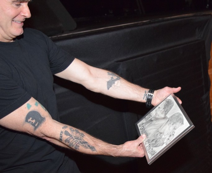 Rollins Admiring Portrait
