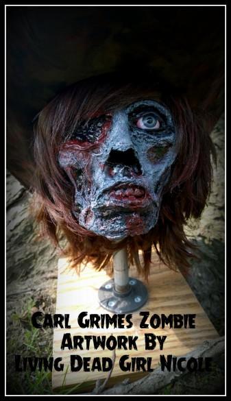Carl Grimes Zombie 2