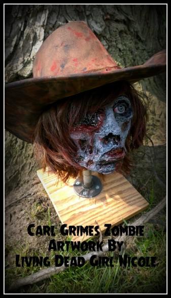 Carl Grimes Zombie 4