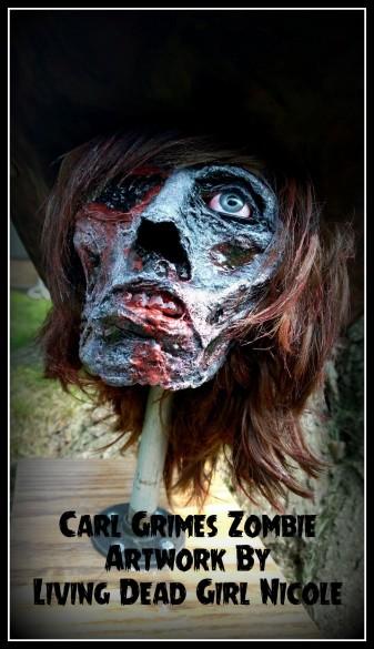 Carl Grimes Zombie 5