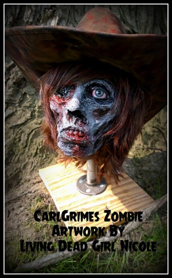 Carl Grimes Zombie 5b