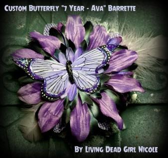 Ava's Special Birthday Barrette!