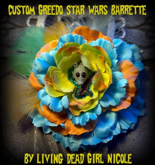 Greedo Star Wars Barrette By Living Dead Girl Nicole