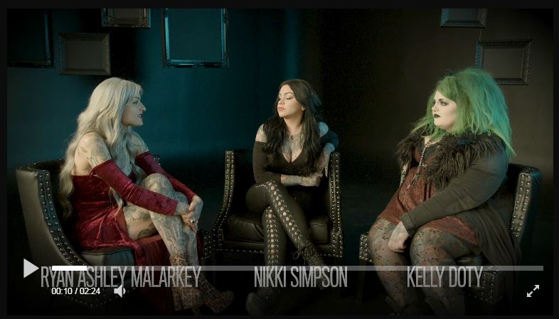 Ink Masters Angels Fashion Video