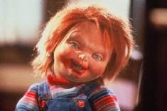 Chucky smiles