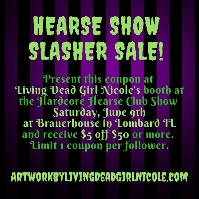 Living Dead Girl Nicole Hease Club Show Savings