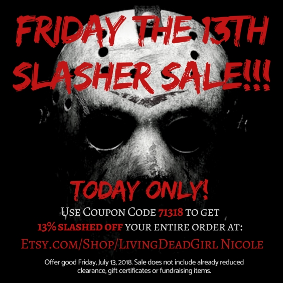 Friday The 13th Sale