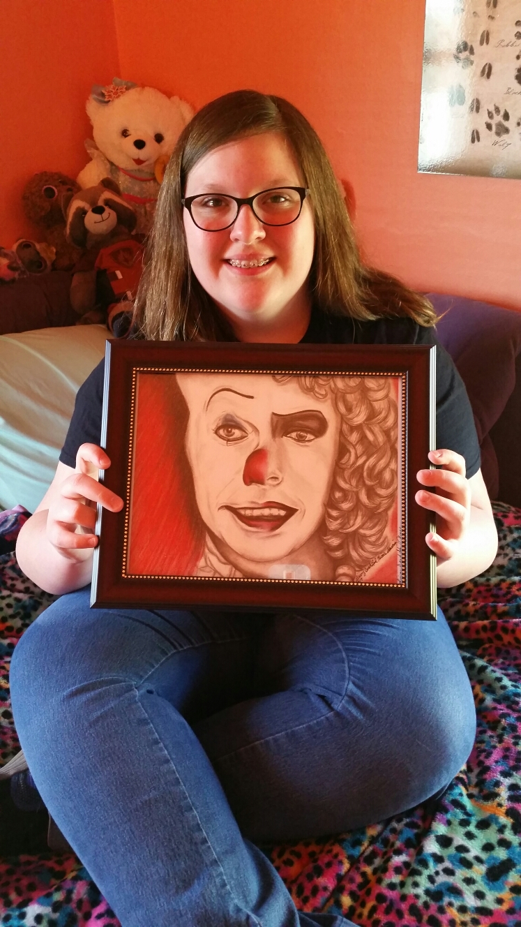 Maggie Tim Curry Pennywise Furter Living Dead Girl Nicole Print
