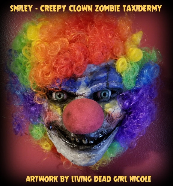 Smiley Zombie Clown By Living Dead Girl Nicole