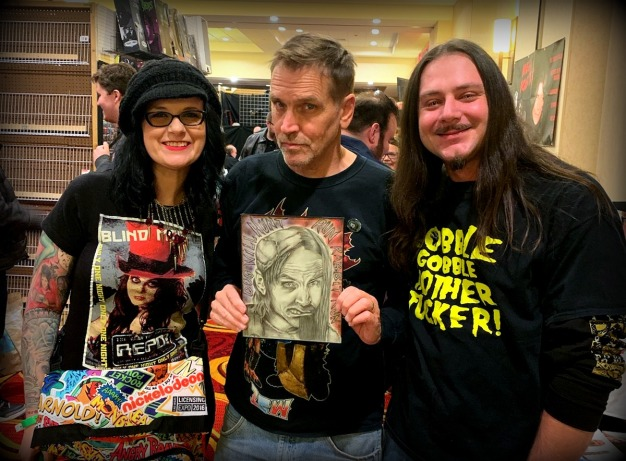 2018-11-16 Days Of The Dead Bill Moseley Portrait