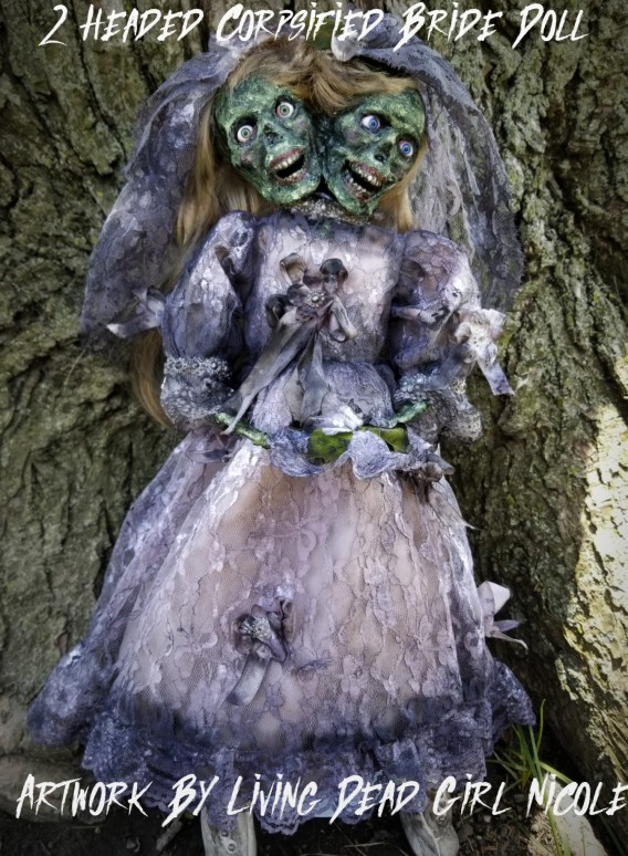 Zombie Bride Doll By Living Dead Girl Nicole (1) (2)
